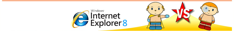 internet explorer 8 vs. Firefox 3 im Browser-Blog